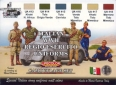 Kit aerografo di colori camouflage LifeColor CS14 ITALIAN WWII REGIO ESERCITO UNIFORMS