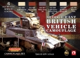 Kit aerografo di colori camouflage LifeColor CS16 MIDDLE EAST BRITISH VEHICLE CAMOUFLAGE
