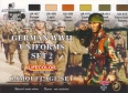 Kit aerografo di colori camouflage LifeColor CS05 GERMAN WWII UNIFORMS SET2