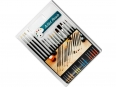 Set of 15 cheap brushes (15x pennelli)