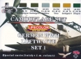 Kit aerografo di colori camouflage LifeColor CS06 GERMAN WWII LUFTWAFFE SET1