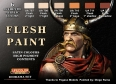 Kit aerografo di colori diorama LifeColor CS13 FLESH PAINT SET