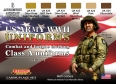 Kit aerografo di colori camouflage LifeColor CS17 WWII US ARMY UNIFORMS SET1 Combat and fatigue