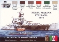 Kit aerografo di colori camouflage LifeColor CS15 ITALIAN NAVY WWII SET1 REGIA MARINA ITALIANA