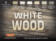 Kit aerografo di colori camouflage LifeColor CS38 WHITE WOOD