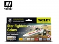 Vallejo Model Air Set 71612 Star Fighters Colors (8)