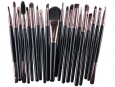 Set of 20 cosmetic brushes (20x pennelli)