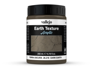 Vallejo Diorama Effects 26218 Dark Earth (200ml)