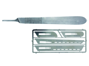 Vallejo T06001 Saw set #1 with scalpel handle #4