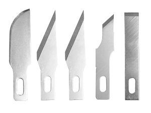 Vallejo T06010 5x Assorted Blades for Knife